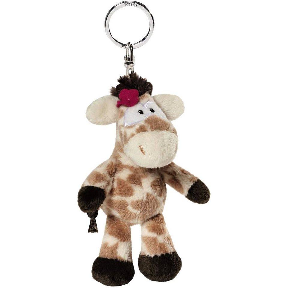 NICI Giraffe Debbie Bean Bag Schlüsselanhänger (38613)