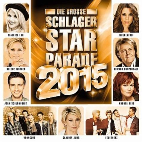 Audio CD »Various: Die Große Schlager Starparade...«
