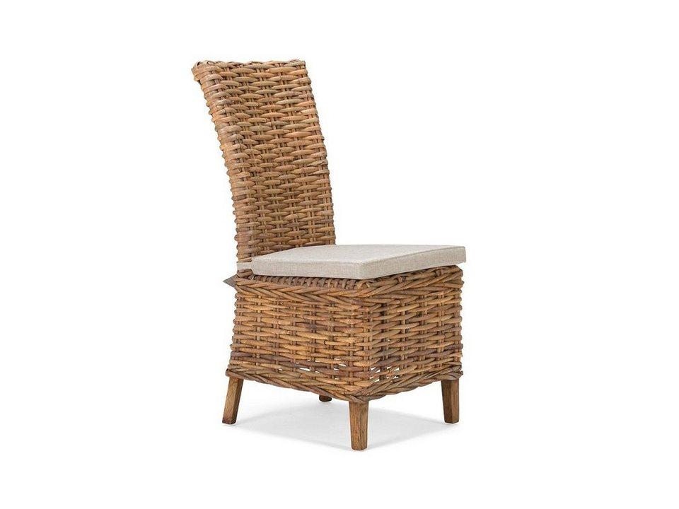 massivum Stuhl aus Rattan »Caracas« in natur