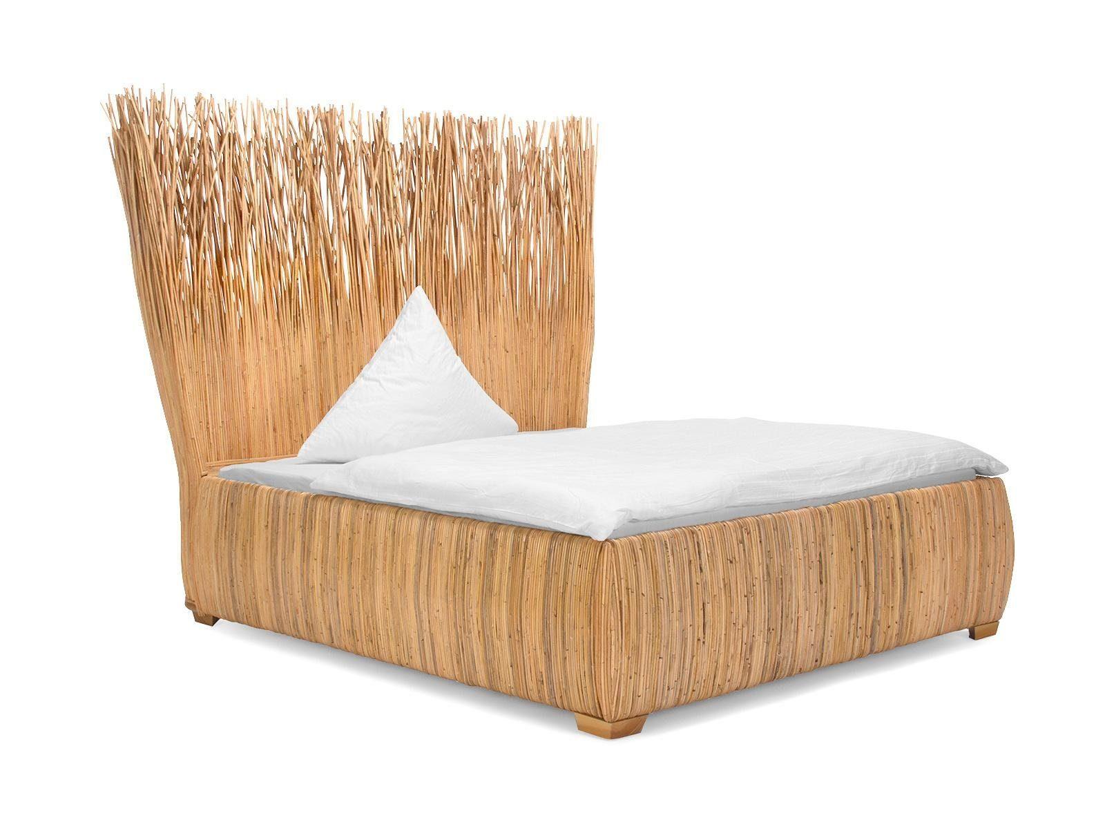massivum Bett aus Kubu-Rattan »Tasmania«