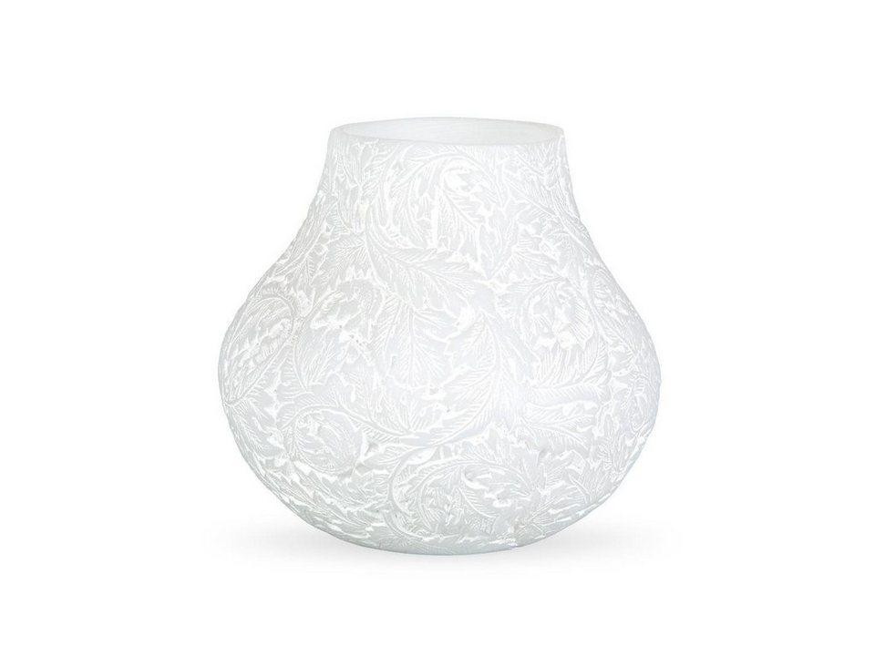 massivum Vasen aus Polyresin »Yola« in weiß