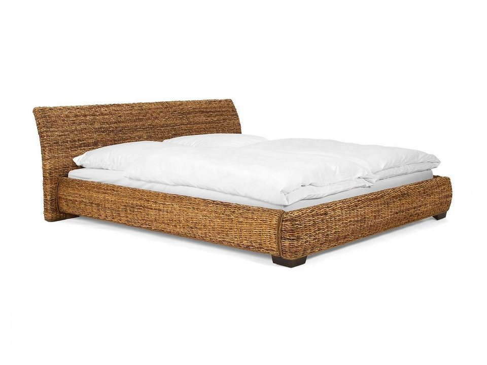 massivum bett aus bananenblatt barika kaufen otto. Black Bedroom Furniture Sets. Home Design Ideas