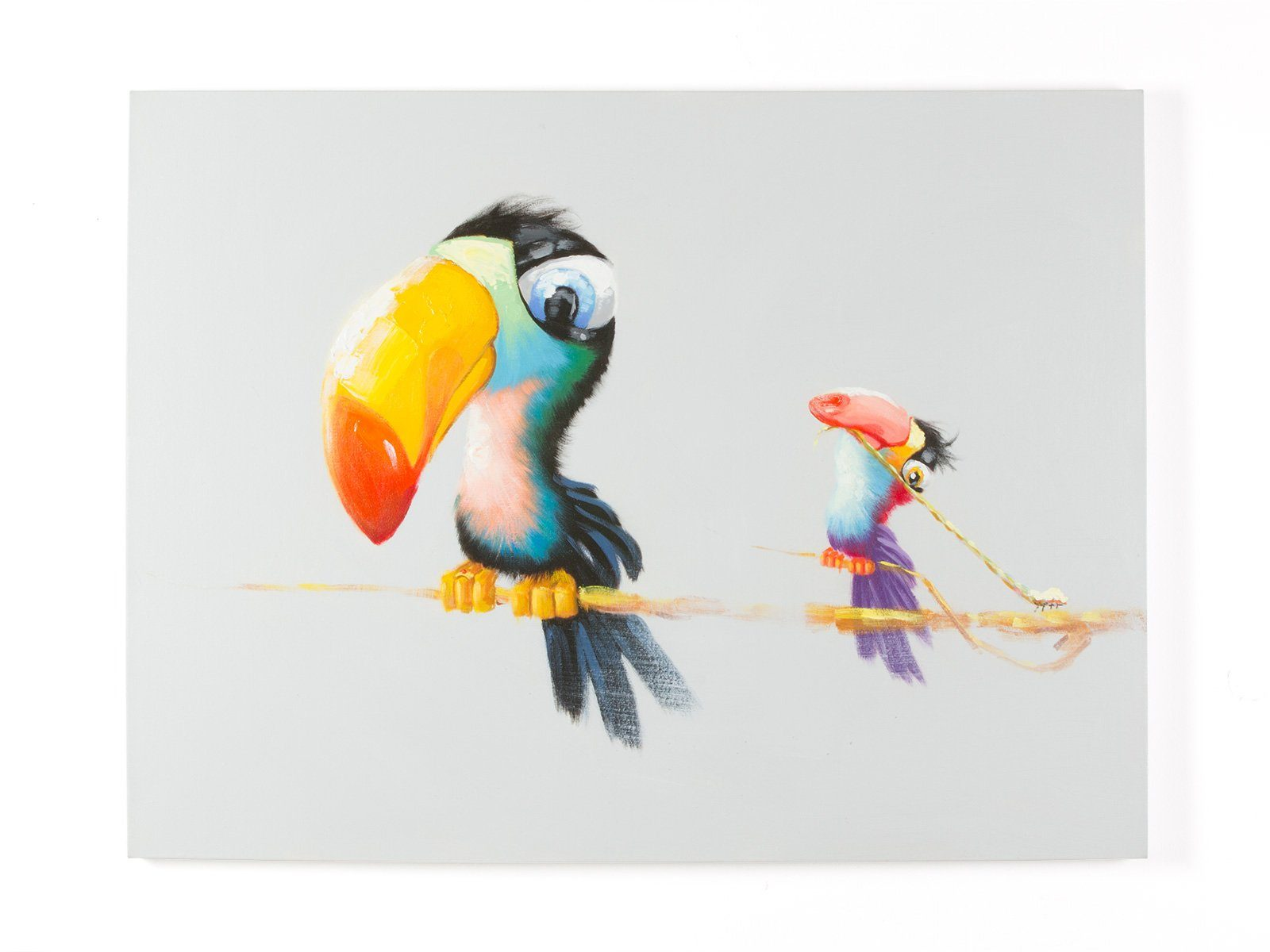 massivum Wandbild aus Stoff
