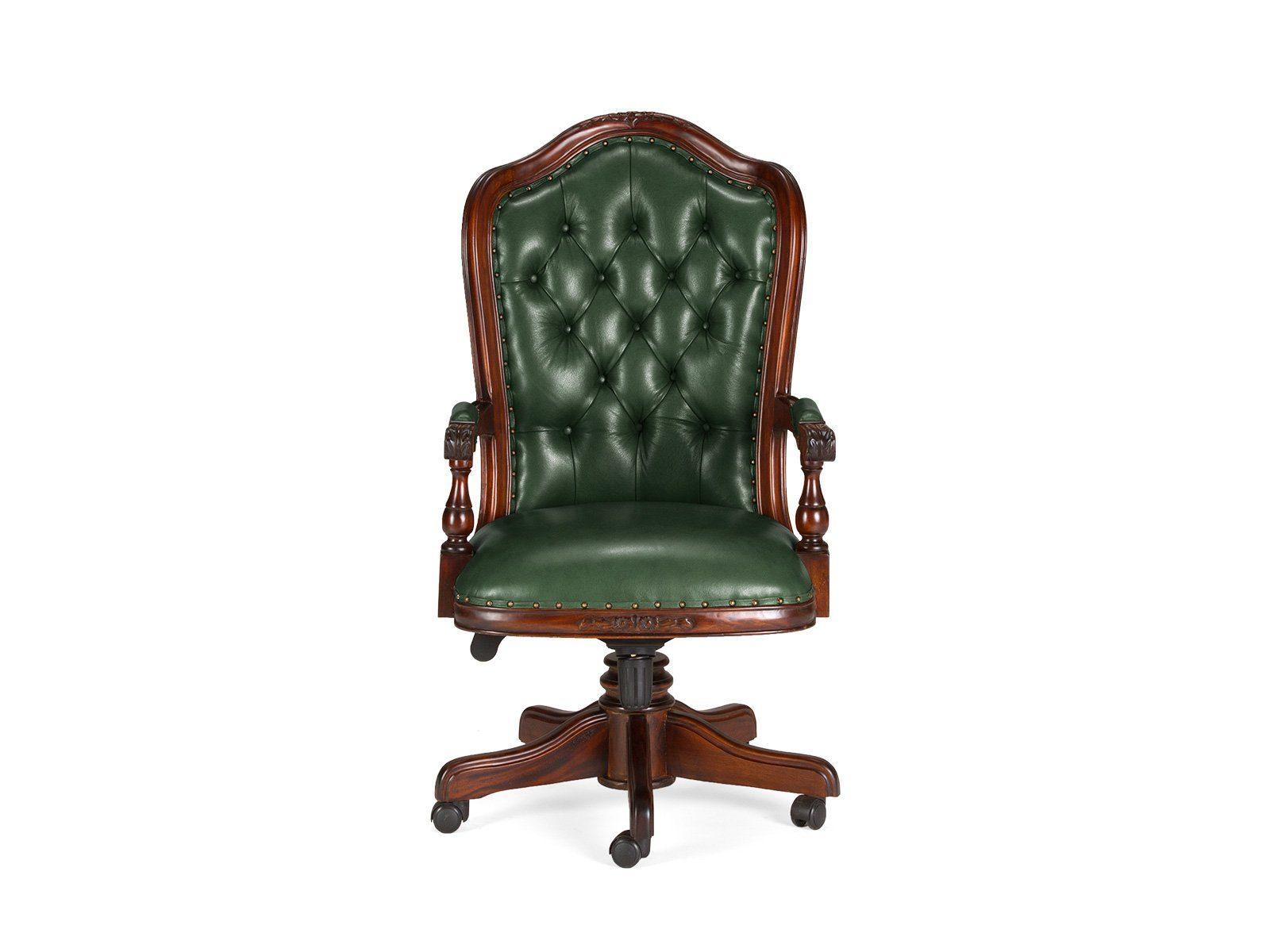 massivum Stuhl aus Echtleder »Cambridge«