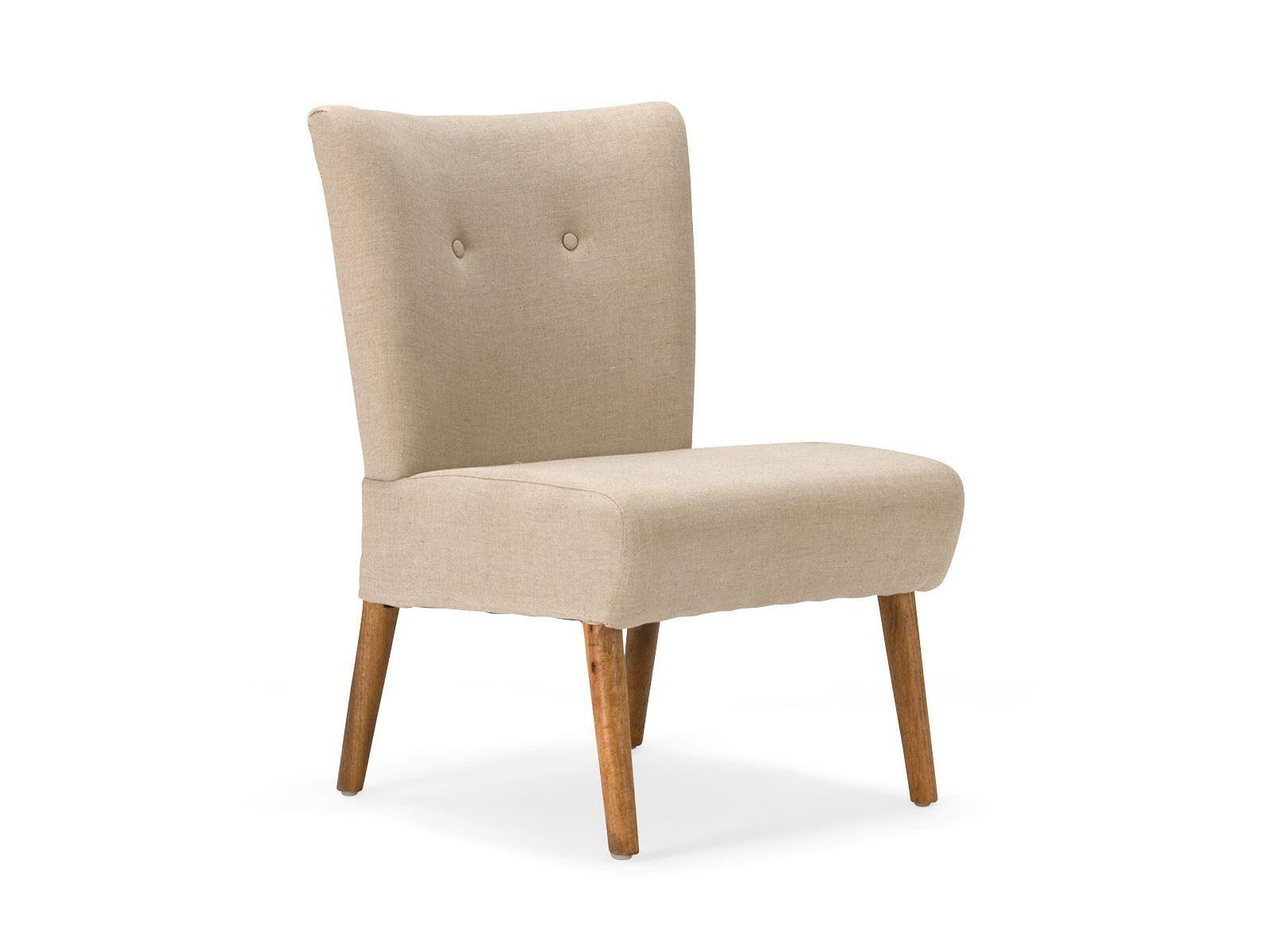 massivum Stuhl aus Flachgewebe »Highland«