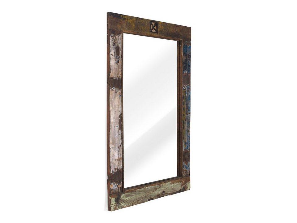 massivum Spiegel aus Hartholz massiv »Cruzar« in bunt