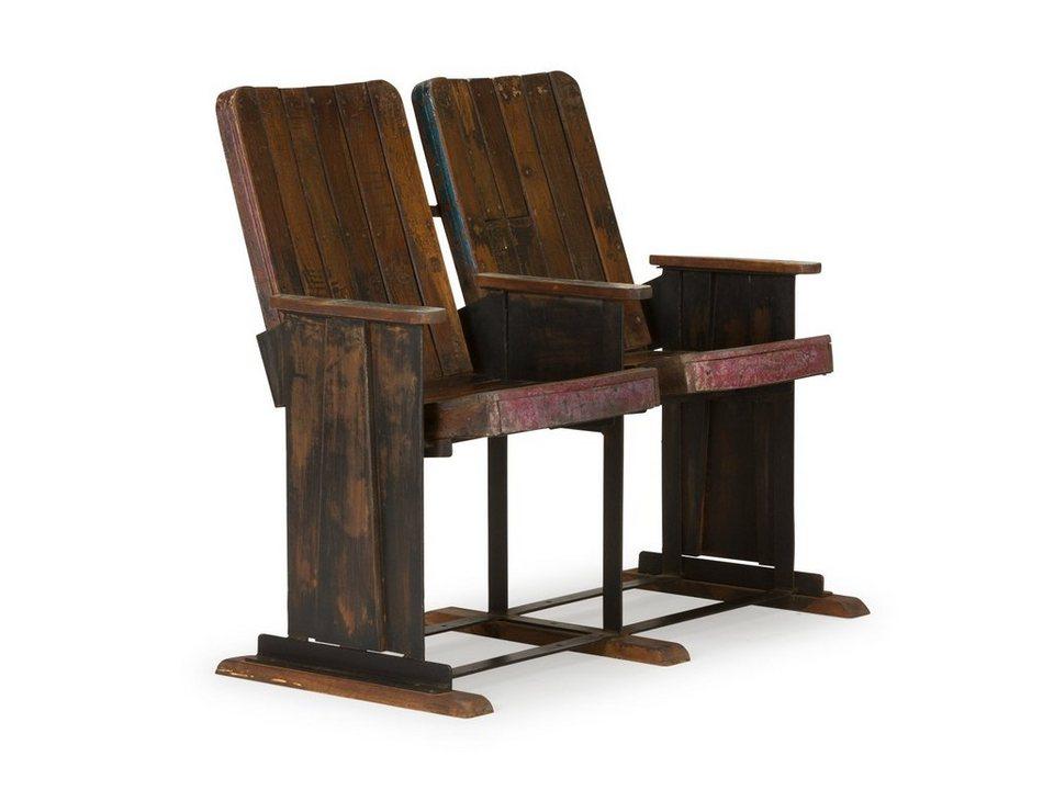 massivum Stuhl aus Hartholz »Unikate« in braun
