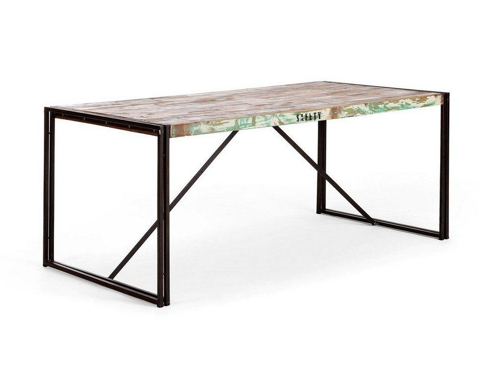 massivum esstisch aus recycelt massiv quebec ii otto. Black Bedroom Furniture Sets. Home Design Ideas