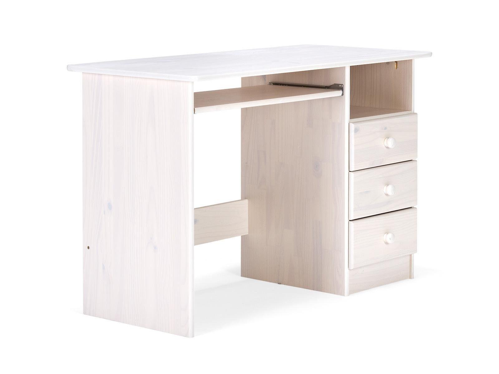massivum Schreibtisch aus Kiefer »Conteo«