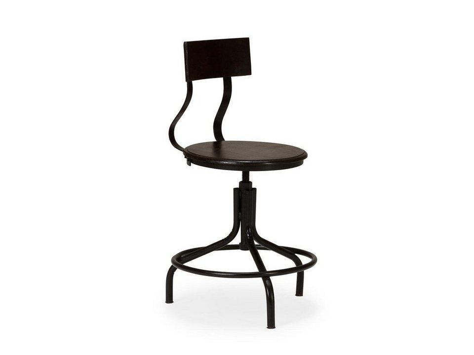 massivum Stuhl aus Metall »Ripon« in schwarz