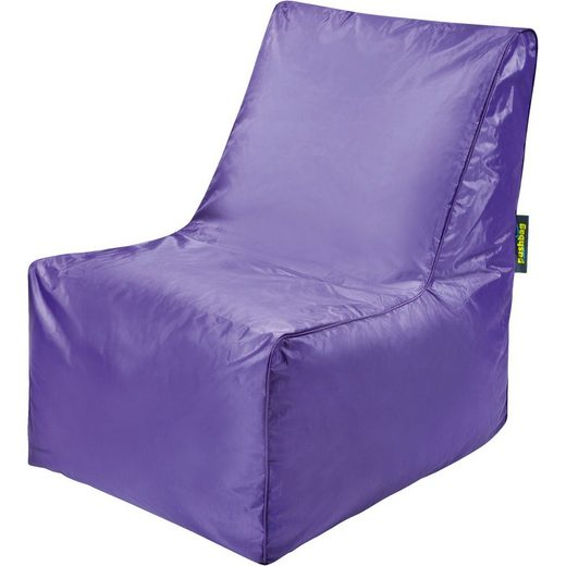 Sitzsack Block, Oxford, purple