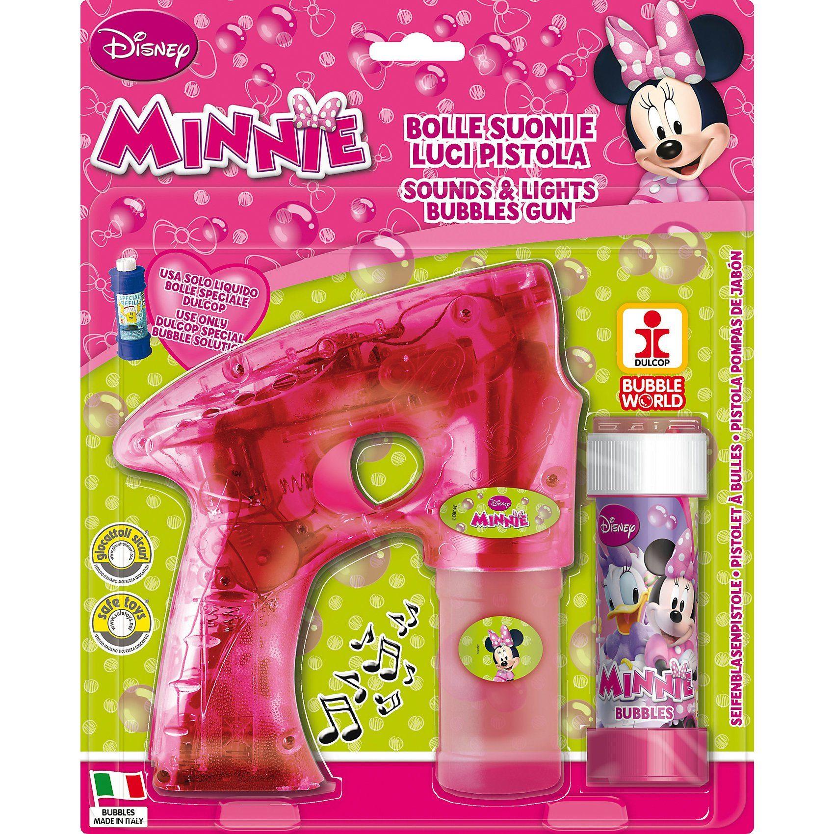 Dulcop Seifenblasen-Pistole Minnie Mouse
