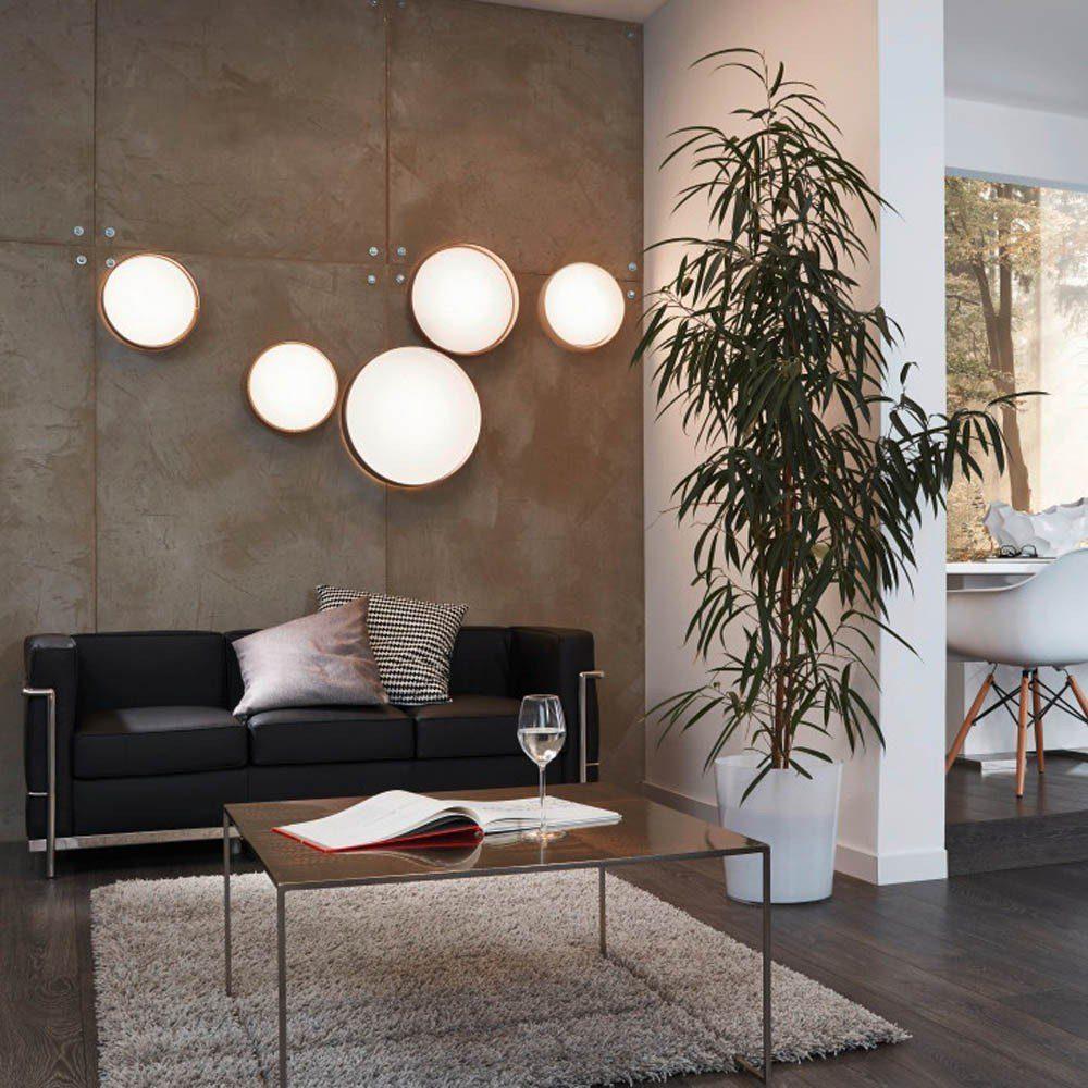 Licht-Trend Deckenleuchte »Palo LED-Deckenleuchte mit Textilschirm in Creme«