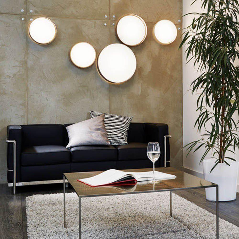 Licht-Trend Deckenleuchte »Palo LED mit Textilschirm in Taupe«