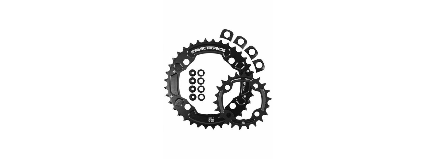 Race Face Kettenblatt »Turbine Chainring Set 4 Bolt 22/36 2x10 Speed«