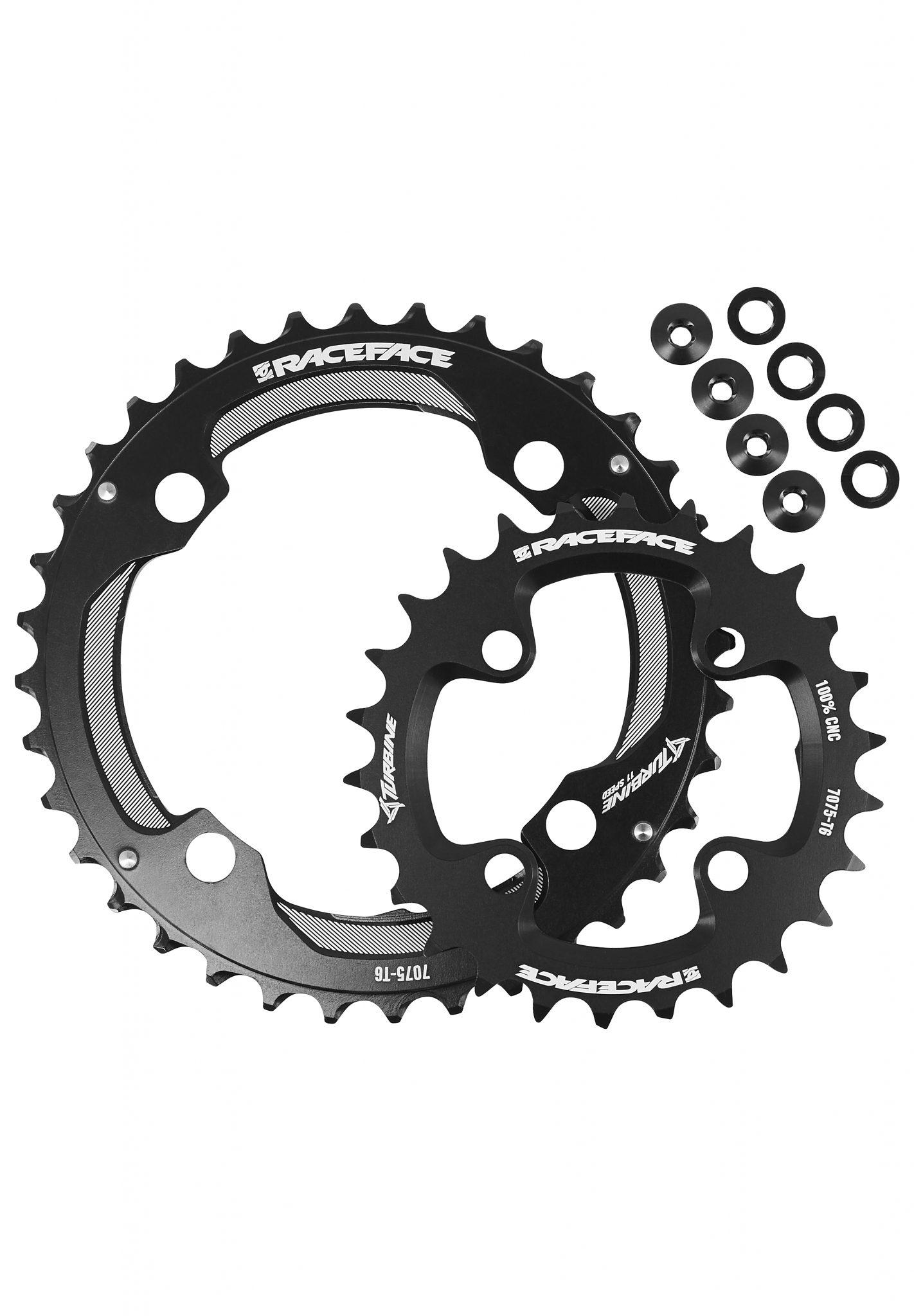 Race Face Kettenblatt »Race Face Turbine Chainring Set 4 Bolt 26/36 2x11«