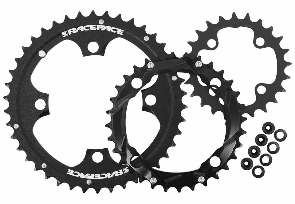 Race Face Kettenblatt »Evolve Chainring Set 4 Bolt 24/32/42 3x10 Speed«