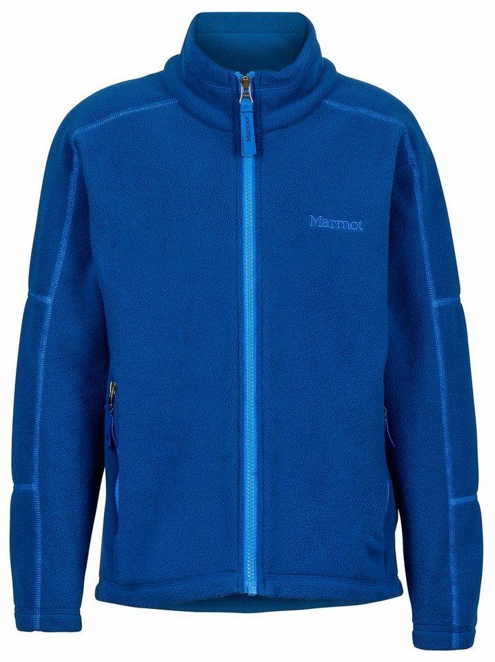 Marmot Outdoorjacke »Lassen Fleece Boys« in blau