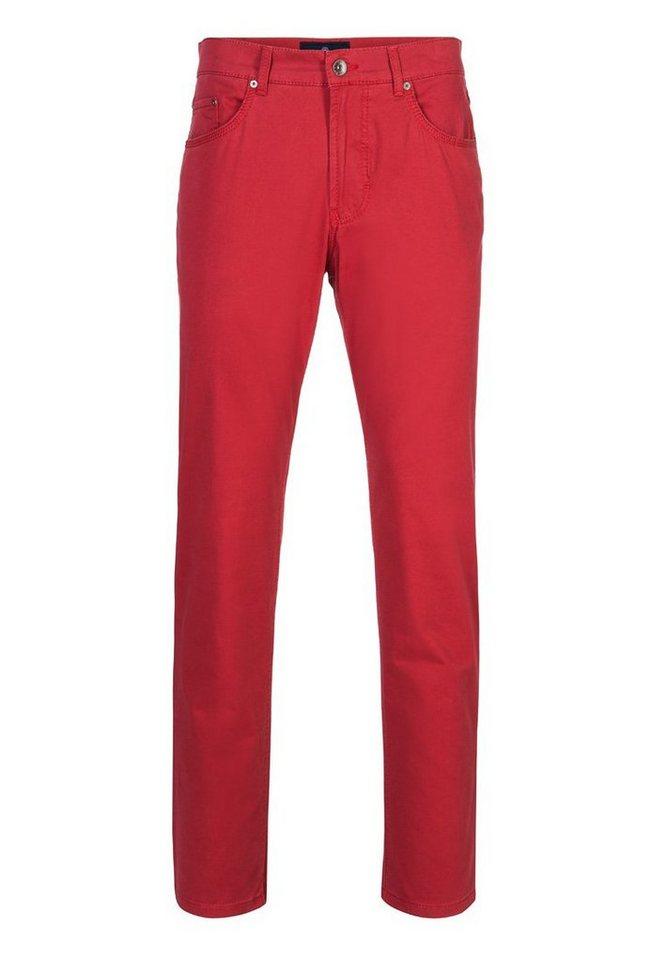 BRAX Herrenhose Five-Pocket »COOPER FANCY« in RED