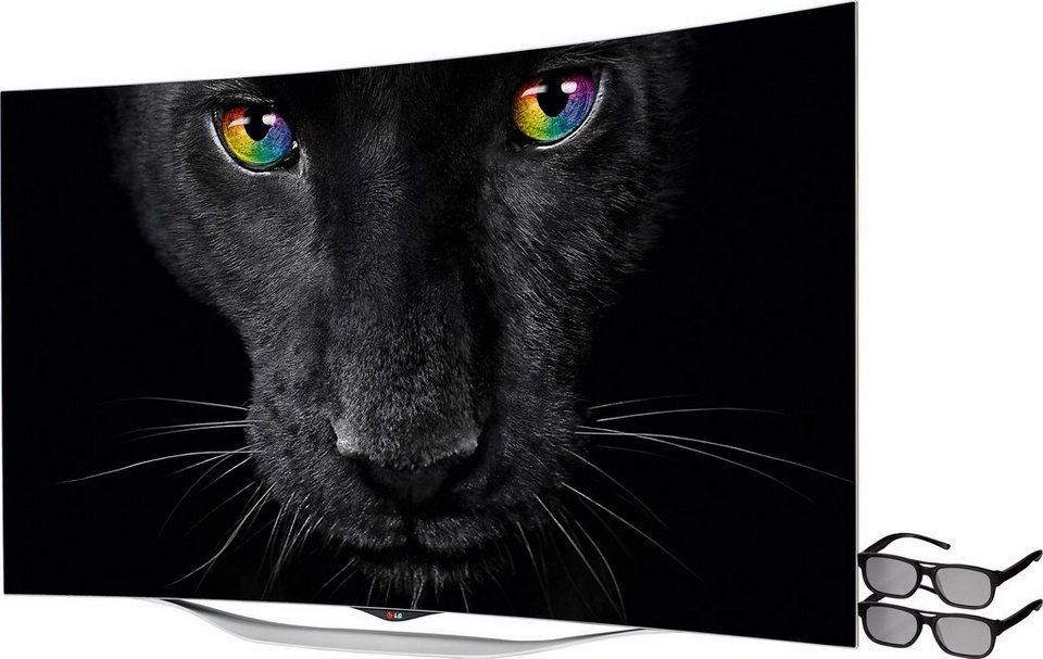 lg 55ec930v curved oled fernseher 139 cm 55 zoll 1080p full hd smart tv online kaufen otto. Black Bedroom Furniture Sets. Home Design Ideas