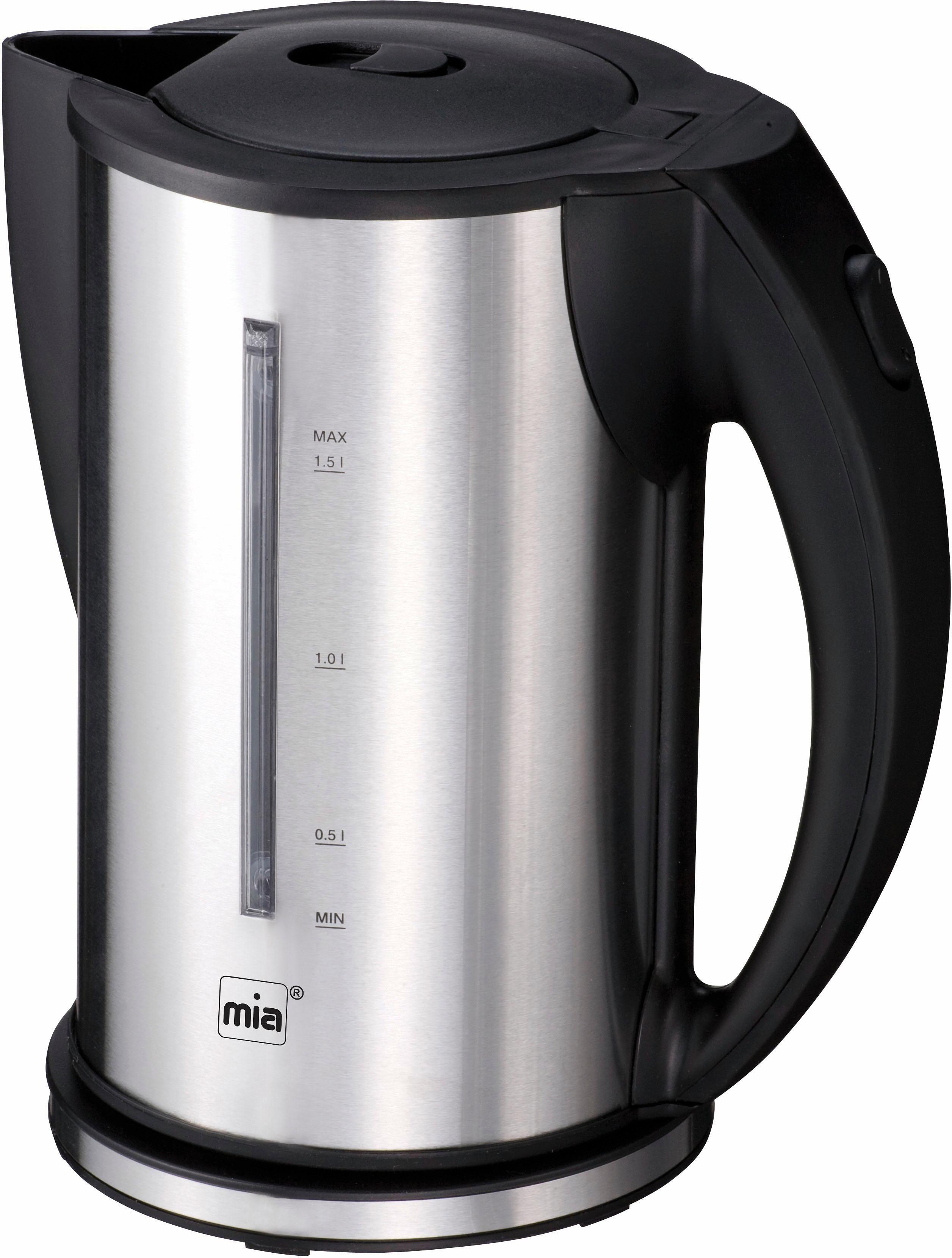 Mia Wasserkocher EW 3672, 1,5 Liter, 2200 Watt