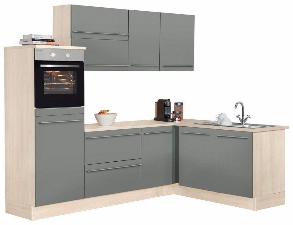 OPTIFIT Winkelküche »Bern«, ohne E-Geräte, Stellbreite 255 x 175 cm mit  höhenverstellbaren Füßen online kaufen | OTTO