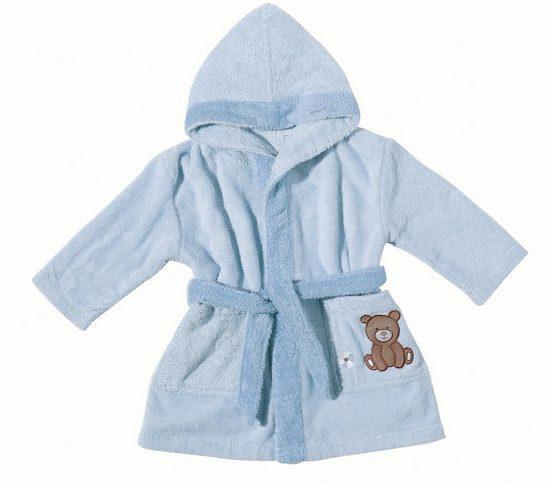 Babybademantel »Teddy Bear«, Egeria, mit Stickerei