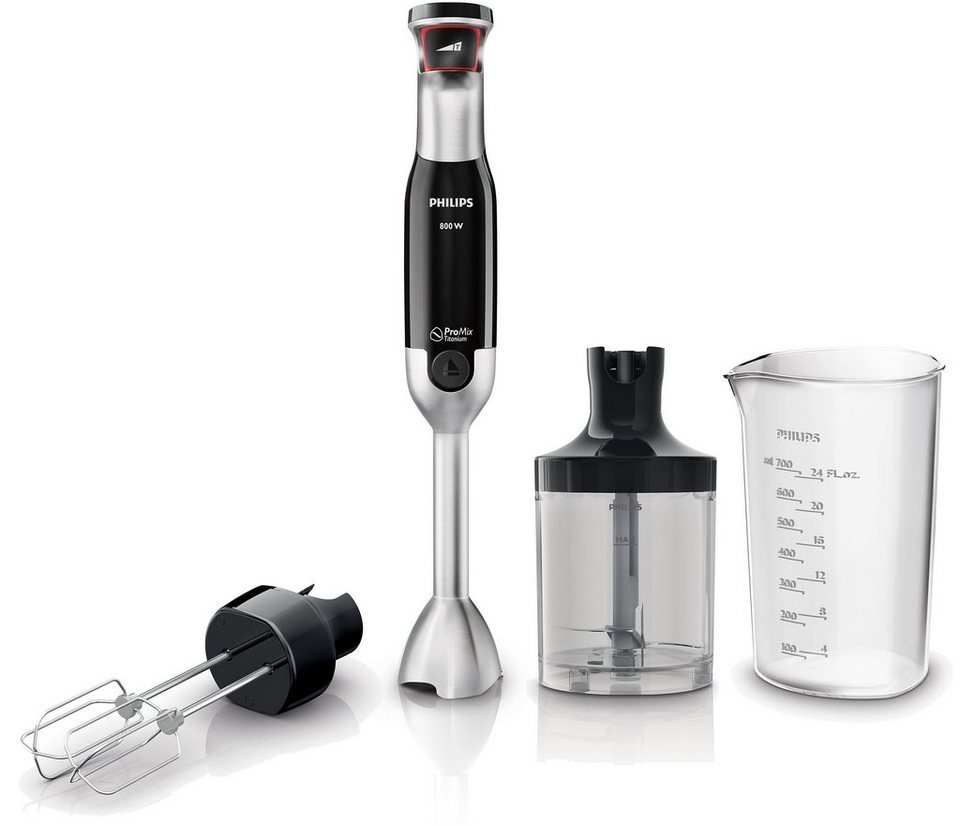 Philips Stab- und Handmixer HR1674/90 Avance Collection in schwarz