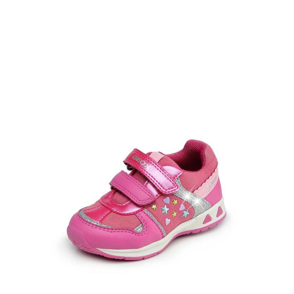 Geox Teppei Girl Lauflernschuh in pink