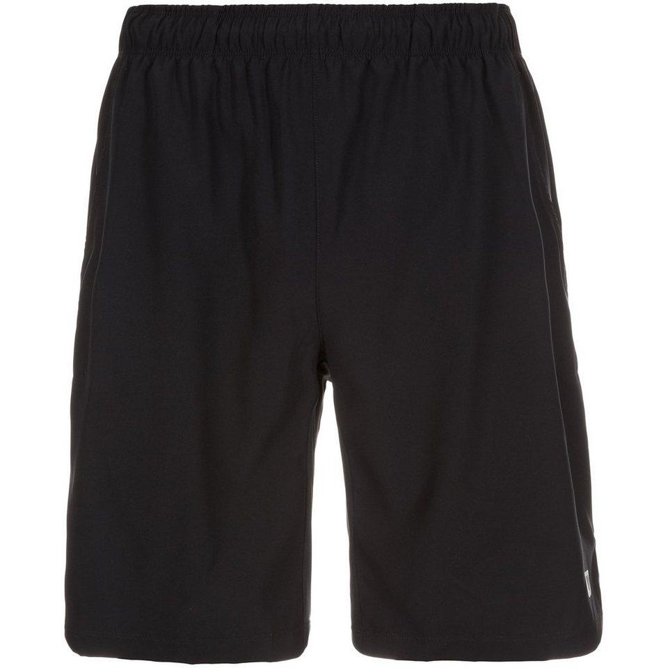 WILSON Rush 9 Woven Tennisshort Herren in schwarz