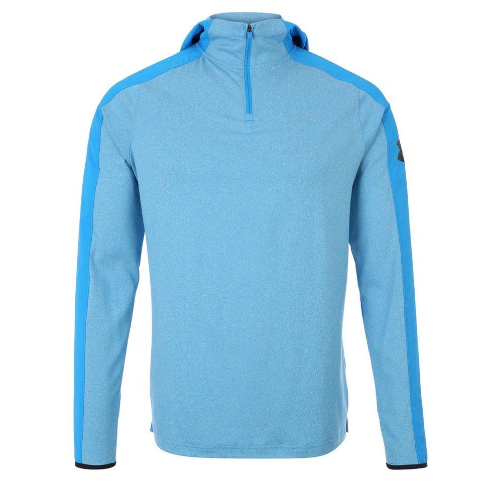 Under Armour® ColdGear Scope Trainingskapuzenpullover Herren in hellblau / blau