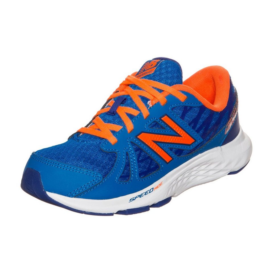 NEW BALANCE KJ690-PTY-M Laufschuh Kinder in blau / orange