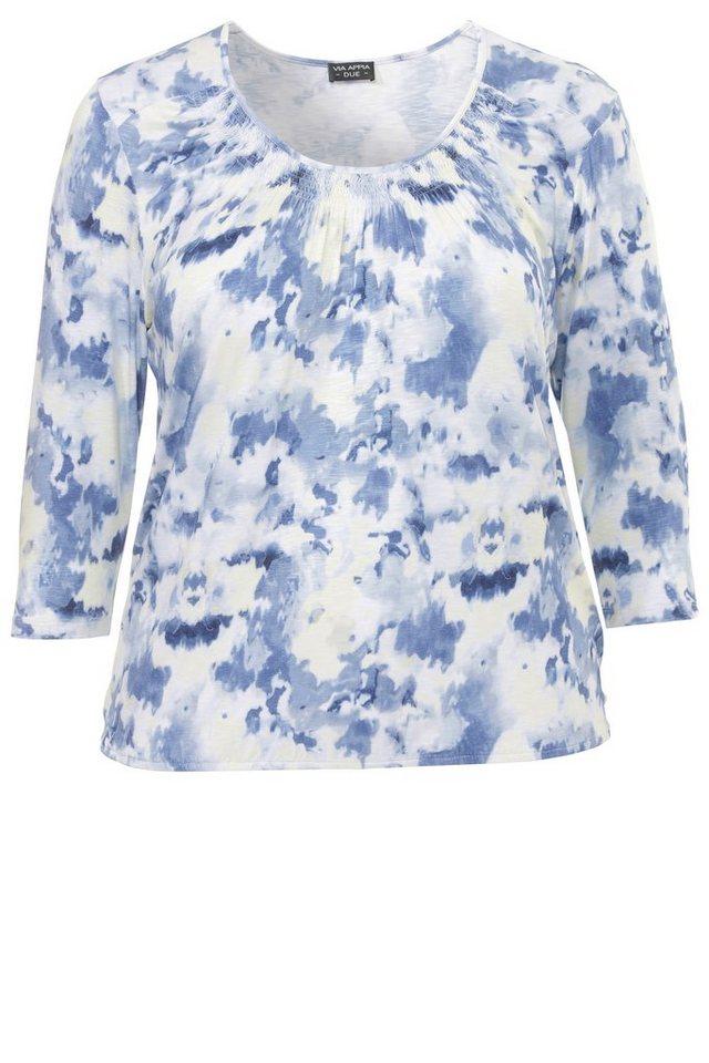 VIA APPIA DUE Blouson-Shirt »Blue Passion« in MARINE MULTICOLOR