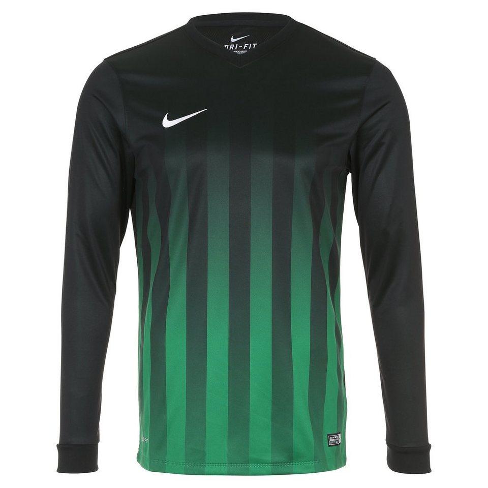 NIKE Striped Division II Fußballtrikot Herren in schwarz / grün / wei