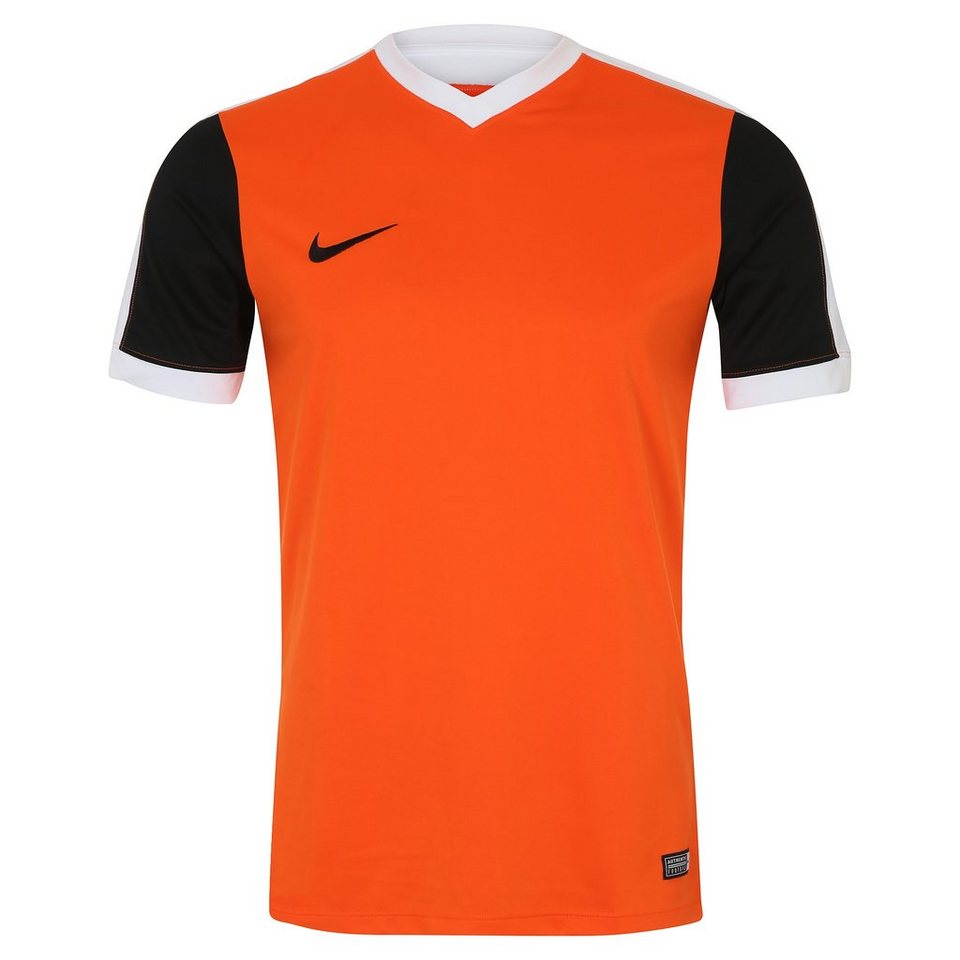 NIKE Striker IV Fußballtrikot Herren in orange / schwarz