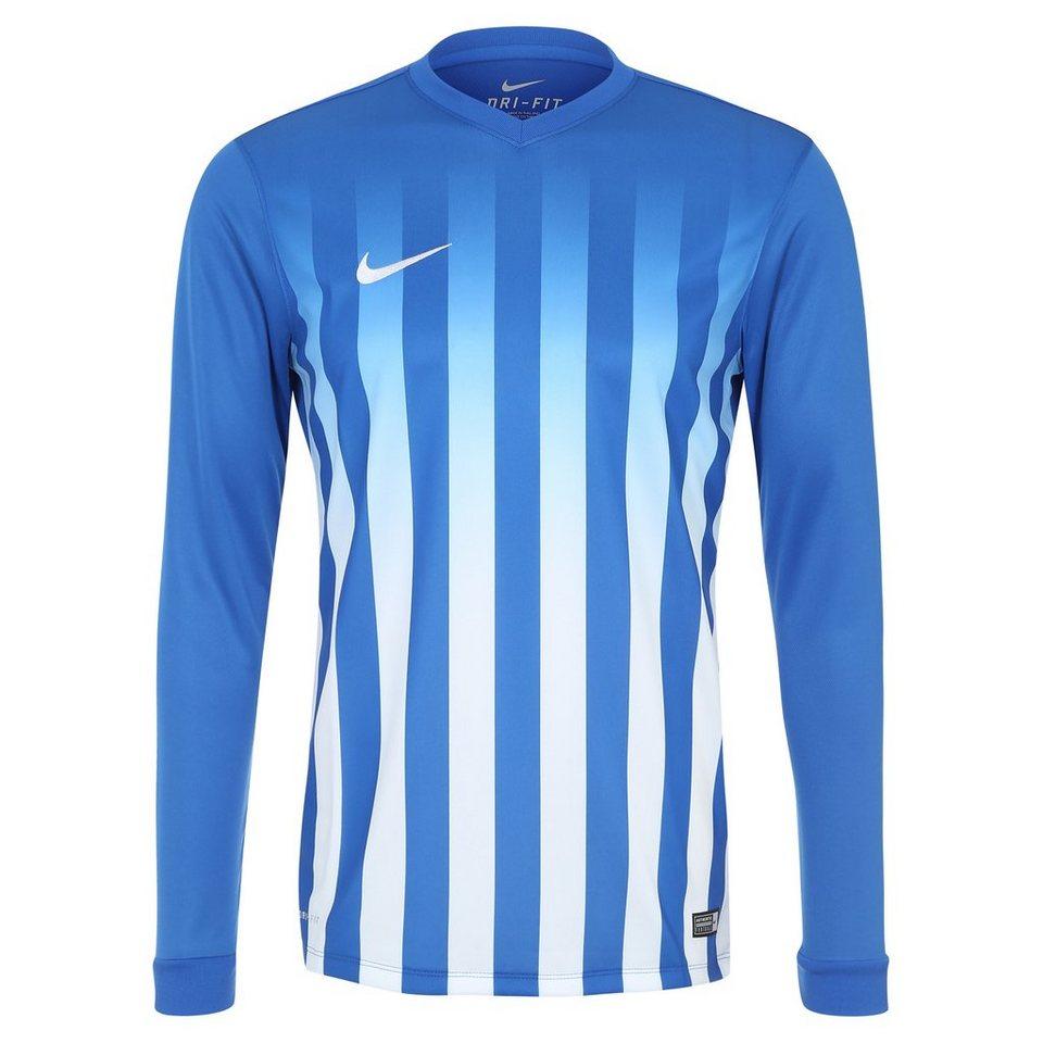 NIKE Striped Division II Fußballtrikot Herren in blau / weiß