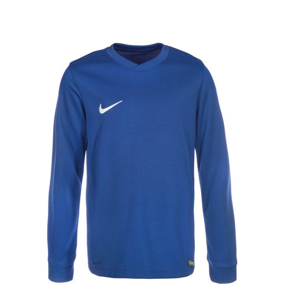 NIKE Park VI Fußballtrikot Kinder in blau / weiß