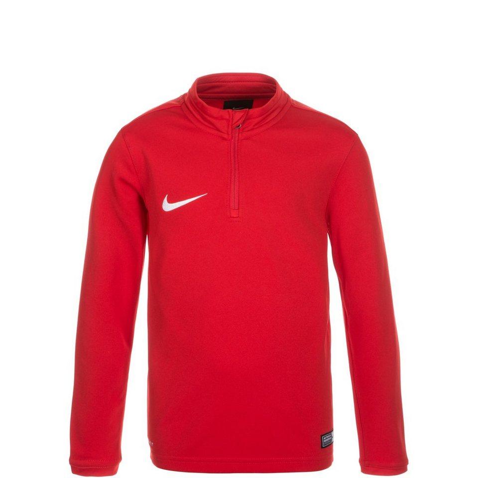 NIKE Academy 16 Midlayer Trainingsshirt Kinder in rot / weiß