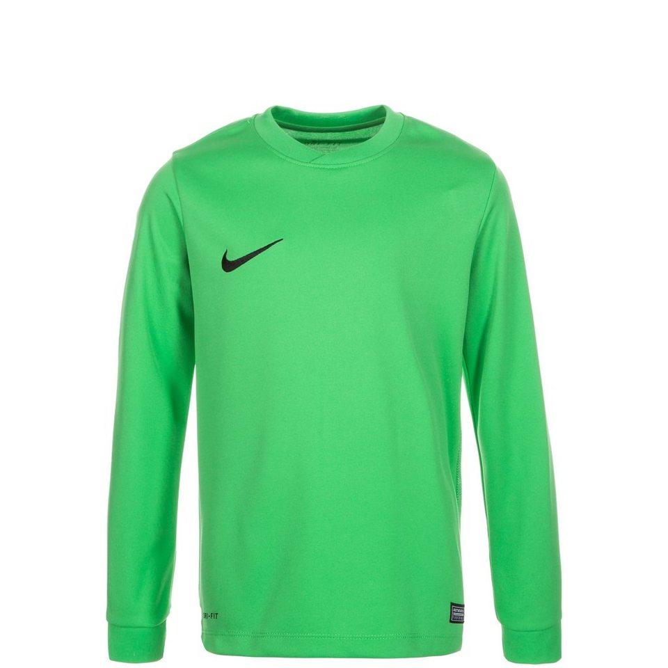 NIKE Park VI Fußballtrikot Kinder in grün / schwarz