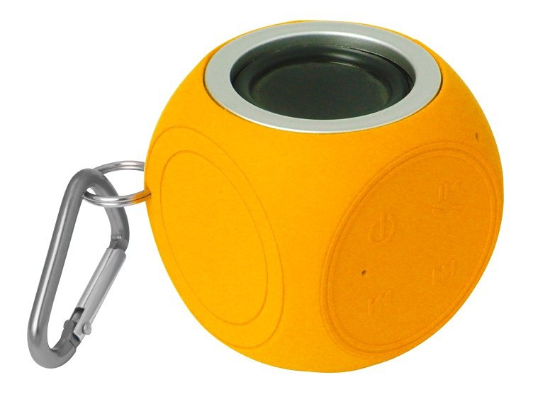 Sound2Go Watercube, robuster Bluetooth-Lautsprecher in orange