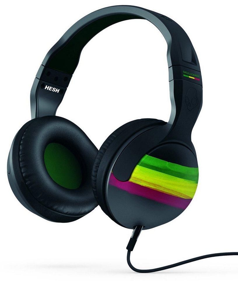 Skullcandy Headset »HESH 2 OVER-EAR W/MIC 1 RASTA/GREEN/BLACK« in schwarz