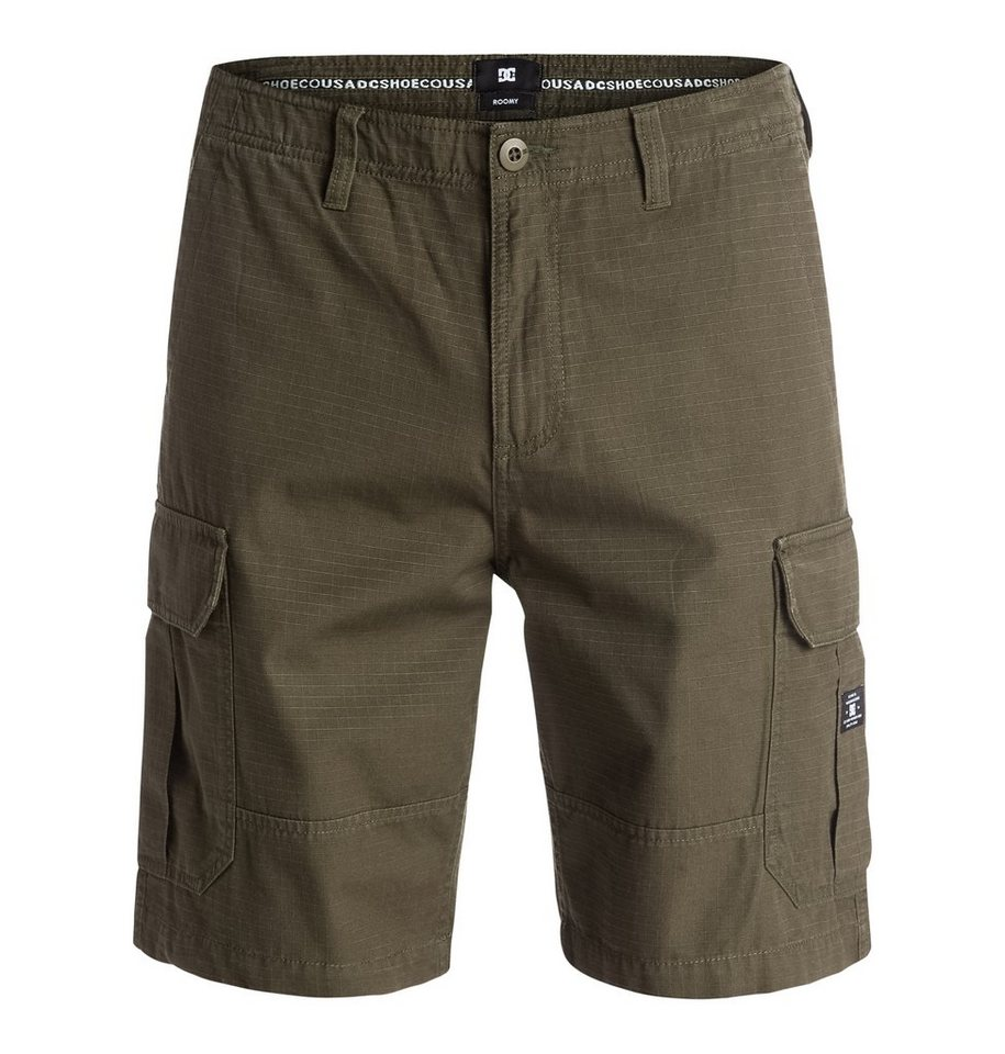 DC Shoes short »Ripstop Cargo« in Dark olive