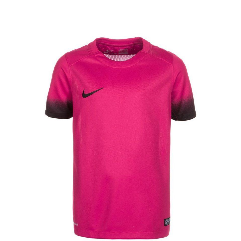 NIKE Laser Print III Fußballtrikot Kinder in pink / schwarz