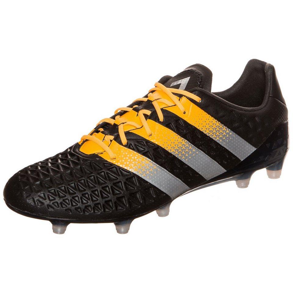 adidas Performance ACE 16.1 FG/AG Fußballschuh Herren in schwarz / orange