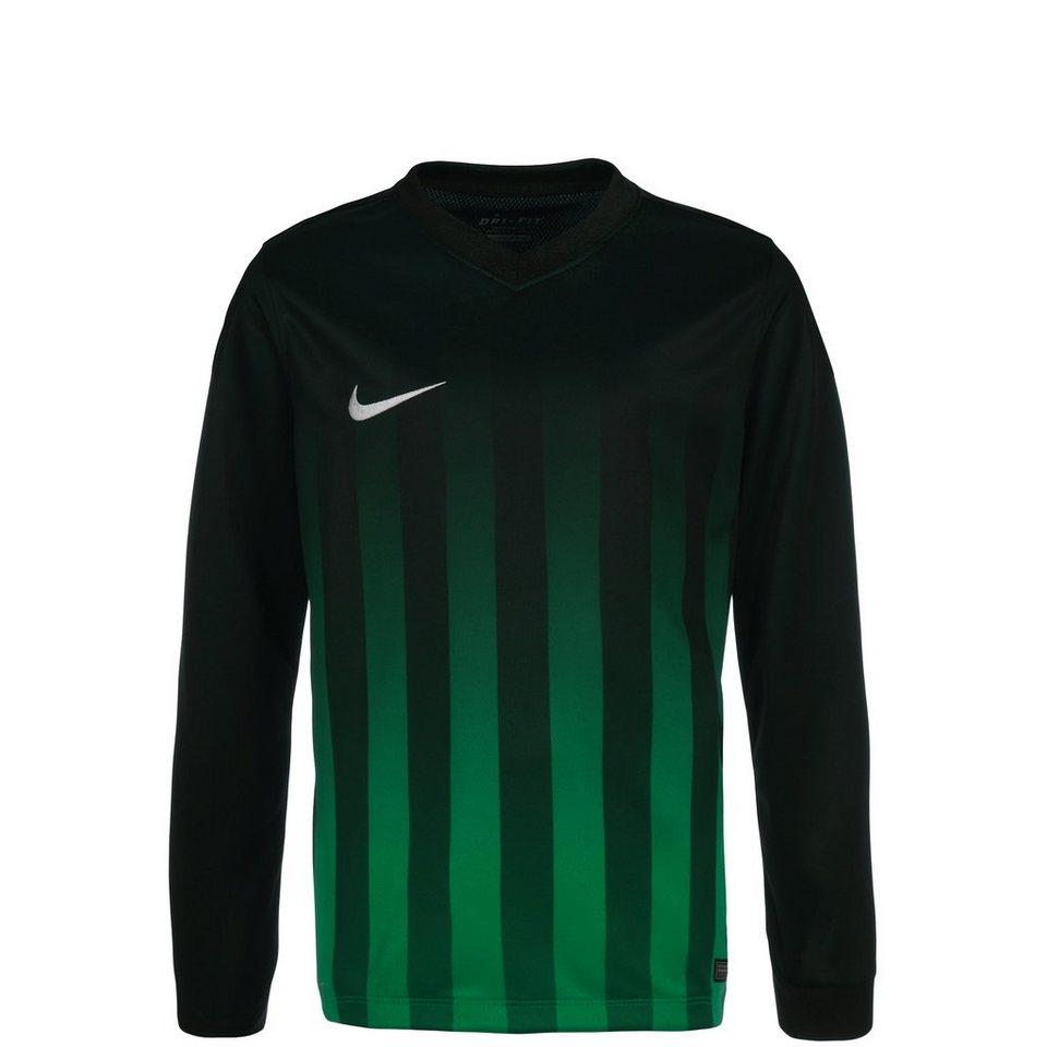 NIKE Striped Division II Fußballtrikot Kinder in schwarz / grün / wei