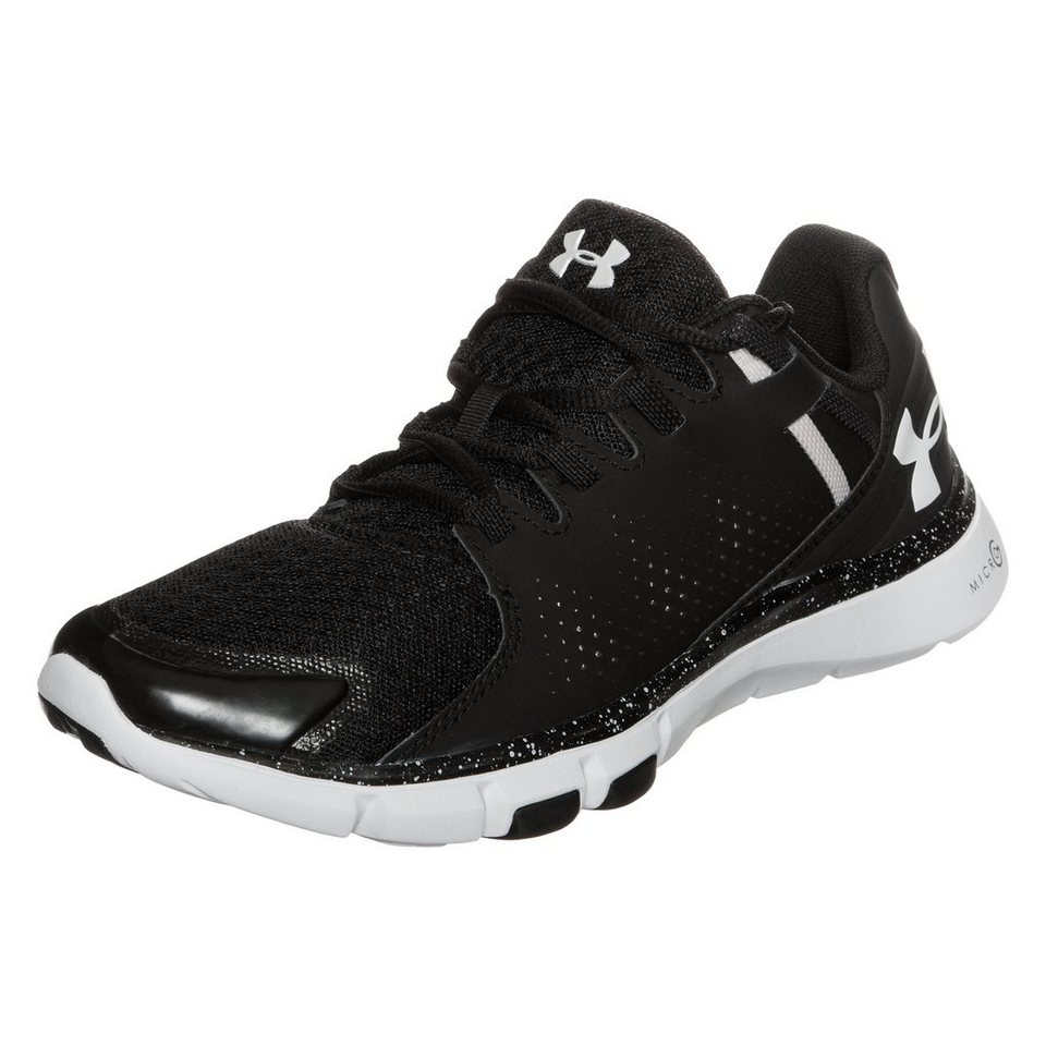Under Armour® Micro G Limitless Trainingsschuh Damen in schwarz / weiß