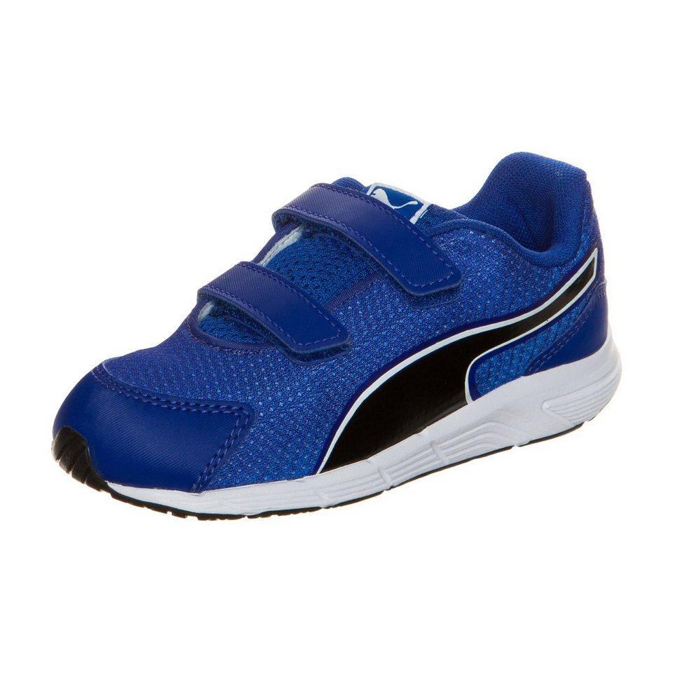 PUMA Sequence V2 Sneaker Kleinkinder in blau / schwarz / wei