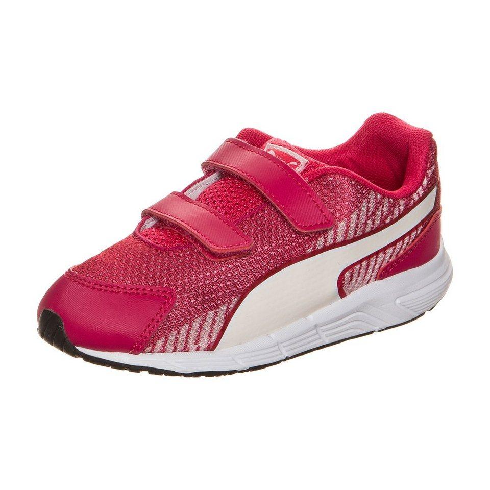 PUMA Sequence V2 Sneaker Kleinkinder in pink / weiß