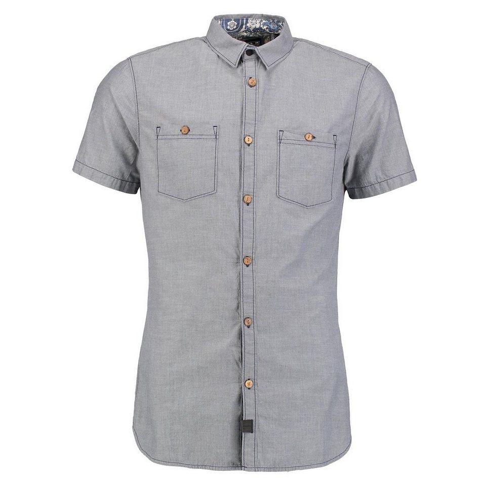 O'Neill Hemd kurzärmlig »Cut Back« in Marineblau