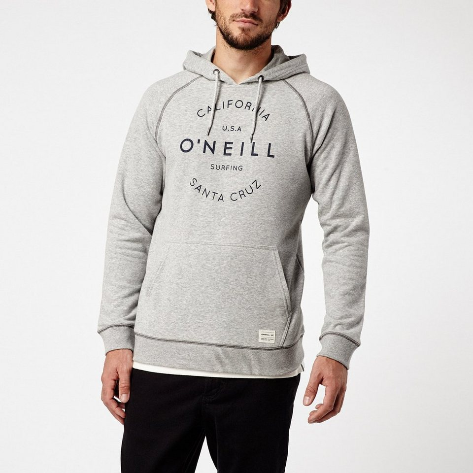 O'Neill Kapuzensweatshirt »Pacific Coast Highway Hoodie« in Silbergrau